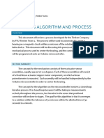 centering algorithm and process