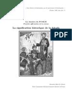 Signification Historique de la Falsafa