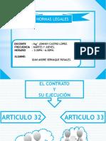 Normas Legales - Articulo 32 - 33