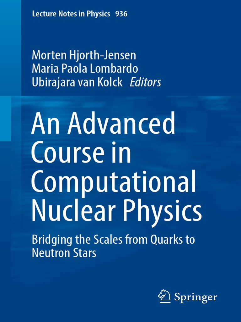An advanced course in computational nuclear physics quantum an advanced course in computational nuclear physics quantum chromodynamics particle physics fandeluxe Gallery