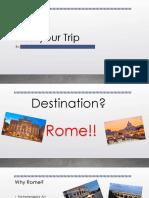 rome spring trip 2