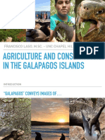 Agriculture and Conservation in the Galapagos Islands