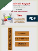 COMPAÑIAS ANONIMAS