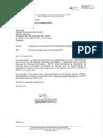 Carta Colegio de Profesores Del Perú
