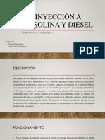 Inyección a Gasolina y Diesel Manuel Mejia Danilo Mora (1)