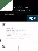 2 Configuración de Un Sistema Operativo de Red
