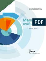Manual Evaluacion Agricultura Para Del Desarrollo