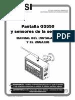BTS LSI GS550 Manual Espanol