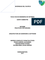 Informe Técnico sobre Arduino Basico