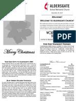 Bulletin Supplement December 24 2017