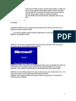 Familia Windows Familia Macintosh Familia Unix