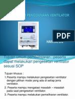 Prosedur Penggunaan Ventilator 1