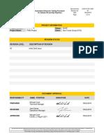 S 0010 UTA 10001 00 (AUT Procedure PIAM Project)
