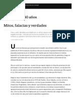 Arturo Illia, 40 Años Mitos, Falacias y Verdades - LA NACION