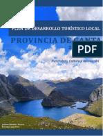 Plan de Desarrollo Turistico Local -Plan Canta