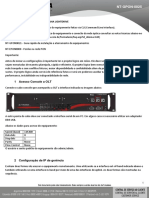NT-GPON-25 - Guia de Instalação e Configuração OLT LIghtdrive