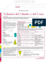 Volumen Del Cilindro