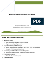 Marketing Research - 5 - 2003