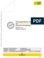 Anexo 16 - Procedimiento de Auditorias Internas