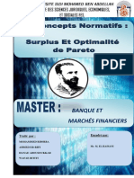 concepts normatifs surplus et optimalité de Pareto.docx