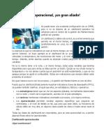 El Dashboard Operacional_German Montero