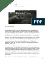 Bereianos.blogspot.com.Br-O Problema Do Mal