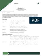 coed resume