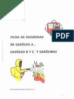 12-Fichas de Seguridad Gasóleo y Gasolinas