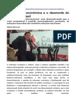 CONJUNTURA - A Soberania Econômica e o Desmonte Do Estado No Brasil