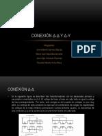 Conexión Δ-Δ y Δ-Y