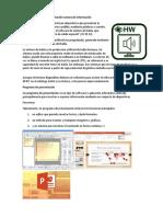 Dispositivos Para La Presentación Sonora de Información