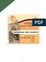 0 TOTAL Memorias Del Evento XII Taller Internacional Comunidades 2015