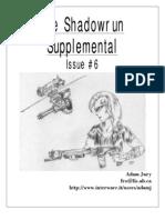 SHADOWRUN Supplement Issue 06