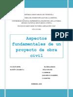 Aspectos Fundamentales de Un Proyecto de Obra Civil TERMINADO