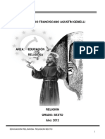 Religión 6- 2012