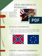 Unidad 5 Ejércitos Unionistas Vr Confederados - Sergio Cadavid