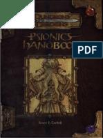 TSR 11835 - Psionics Handbook.pdf