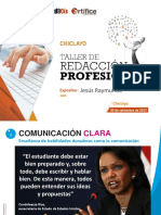Taller Redacción Profesional_chiclayo_setiembre2017 (1)