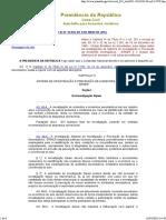 Lei 12970 Lei Da Investigação de Acidentes Aeronáuticos