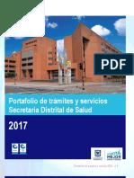 Portafolio de Tramites y Servicios Secretaria de Salud