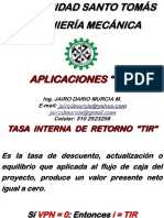 Aplicaciones (TIR)