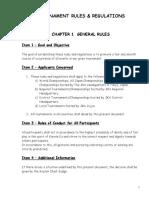 Tournament Rules Regulations Text 2015rev