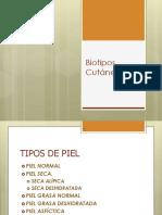 Biotipos Cutáneos
