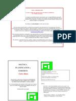 Carlos Matus Politica Planificacion y Gobierno .Output