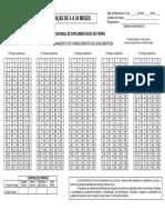 Modelo de Acompanhamento Pnsf 4 a 24 Meses
