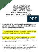 II-5 Calculo de Curvas de Permeabilidades Relativas