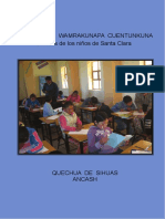 Santa Clara Wamrakunapa Cuentunkuna Cuentos de Sihuas