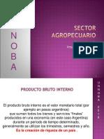 Sector Agropecuario Agroindustria