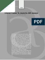 Lopez Maria Pía - La Materia Del Ensayo