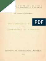 Descubrimiento de Chile y Compañeros de Almagro